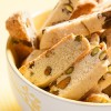 lemon pistachio biscotti