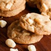 brown butter white chocolate macadamia cookies
