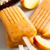 peach bourbon popsicles