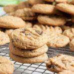 melt-in-your-mouth peanut butter chocolate chip cookies